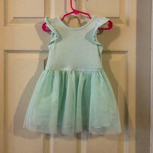 Mint green toddler dress. EUC